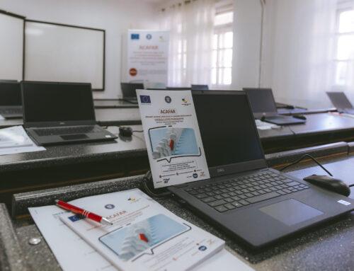70 de angajați din regiunea de Nord-Est au absolvit cursul de Competențe digitale organizat în cadrul proiectului ACAFAR